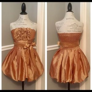 Daisy  Copper Bubble dress